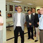 【中國駐休士頓新任總領事】蔡偉參觀華夏中文學校