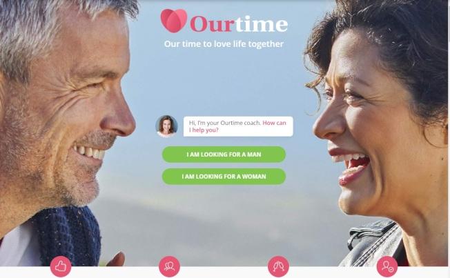 Ourtime專為50歲以上男女而設。(Ourtime)