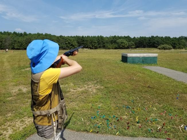 在老槍的射擊俱樂部,學員中以女性為主。(圖:老槍提供)