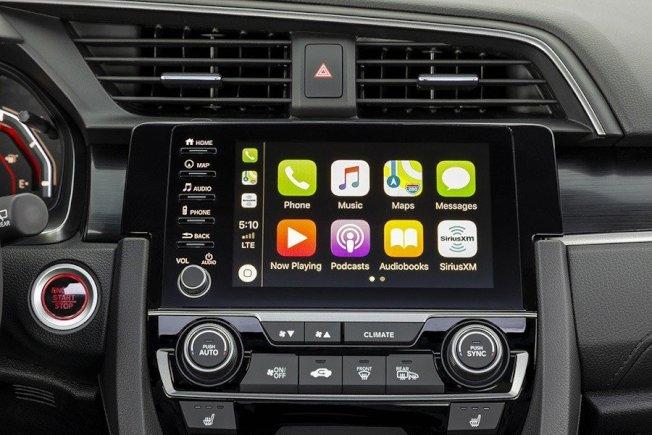 升級至Apple CarPlay和Android Auto連接功能的娛樂資訊系統。(Honda)