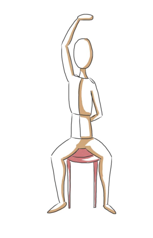 脊椎側彎輕微者腰痠背痛,嚴重者影響心肺、腸胃功能。(本報資料照片)