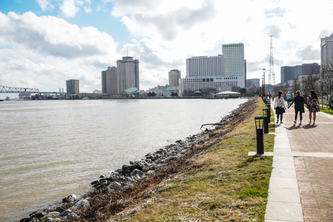 密西西北河風光。
