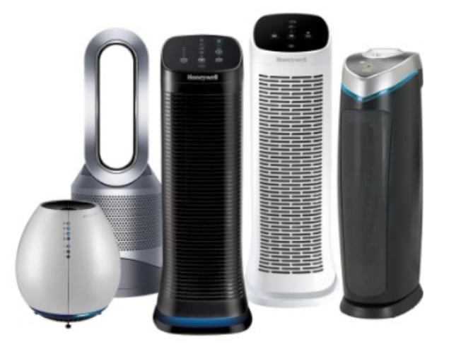 市售空氣清淨機種類繁多。(取自Bestbuy網站)