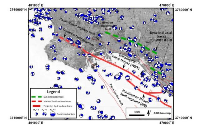 「睡醒」的威明頓斷層示意圖。(美國地質調查局提供)