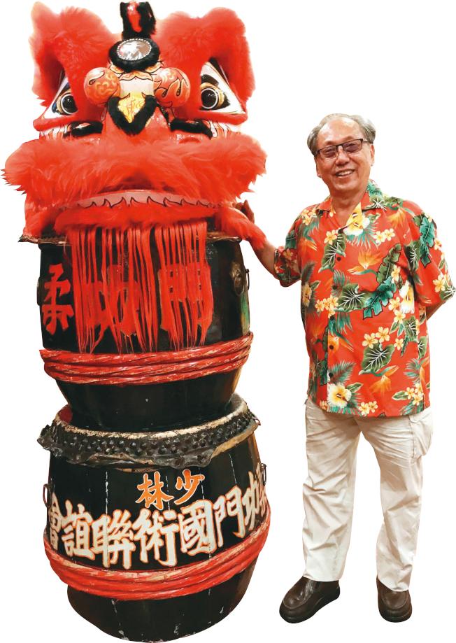 李彪是舊金山華埠僑領及商家,也於33年前創立美國柔功門國術聯誼會,培育下一代國術領袖。(記者李秀蘭/攝影)