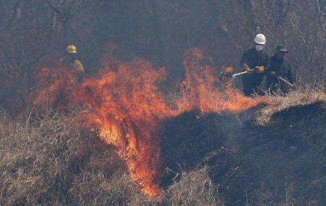 巴西官員表示,儘管政府下令禁止放火整地,亞馬遜盆地火災件數仍繼續增加。(美聯社)
