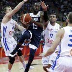 世界杯男籃╱21分差擊退捷克 美國衛冕路開紅盤
