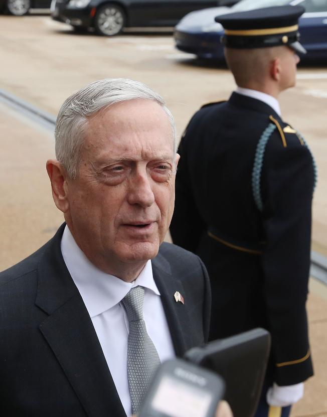 前國防部長馬提斯辭職後首度談論任內和川普總統的互動,聲稱從未阻撓川普下達的指令,也未故意拖延。(Getty Images)