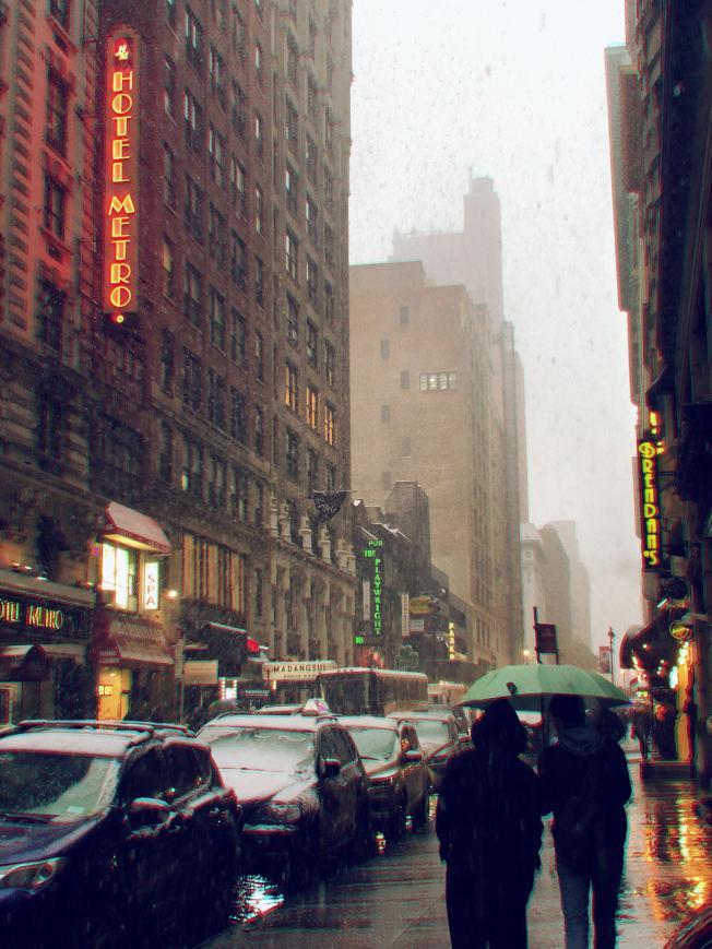 紐約市平均每天流失居民270人,遠超全美其他城市居首。(記者張晨/攝影)