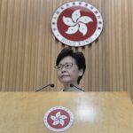🔊林鄭:引起如此混亂的首長不可原諒 如能選擇馬上辭職