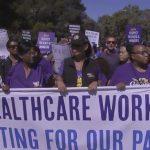 勞工節維權 凱瑟千人示威