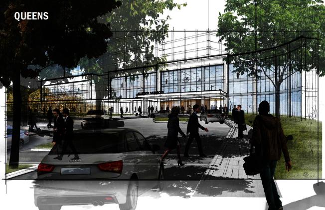 皇后區秋園擴建新監獄,市都市計畫委員會決定更改入口。(本報檔案照)