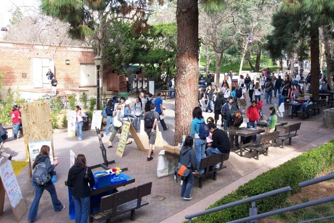 國際化的大學校園為美國經濟及文化帶來很多好處。(記者丁曙/攝影)