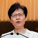 林鄭月娥:香港外憂內患民眾驚怕 港府難脫困局