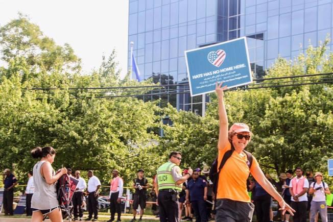 NRA位於維州費爾法克斯郡的總部,近年來常成為反槍枝暴力示威的地點。(本報檔案照)