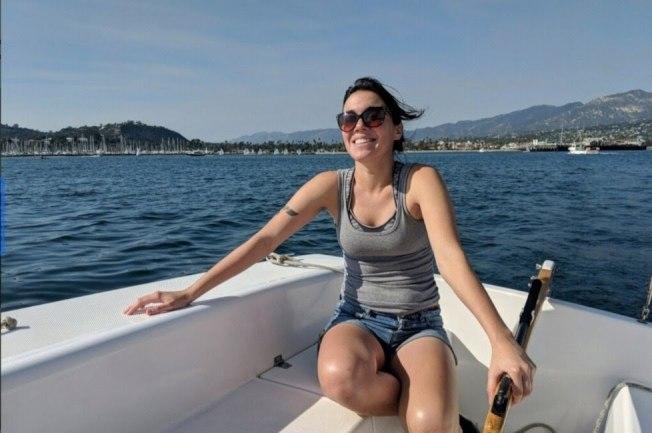 概念號的六名船員中唯一未能逃生的女船員、帕拉蒙影業公司視覺設計師Allie Kurtz。(Allie Kurtz臉書)
