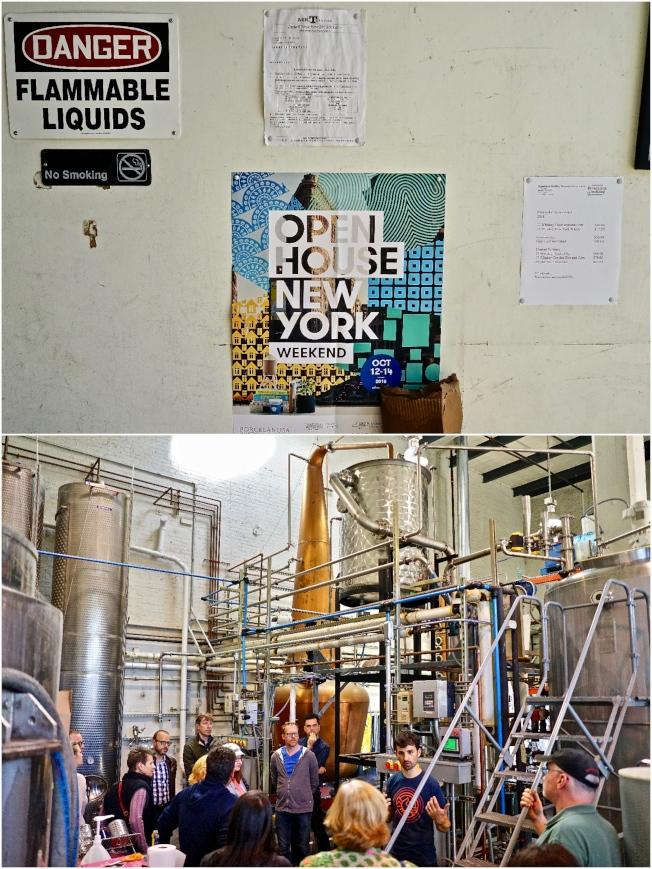 「紐約開放周」兩年前開始增加「工廠星期五」活動,Breuckelen Distilling是其中一家值得參觀的微型蒸餾酒廠。