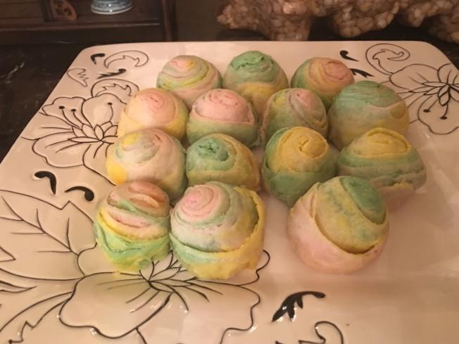 彩虹酥月餅3