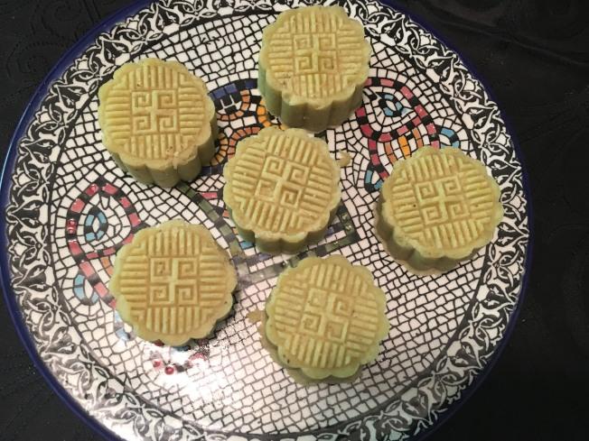 翡翠綠豆糕
