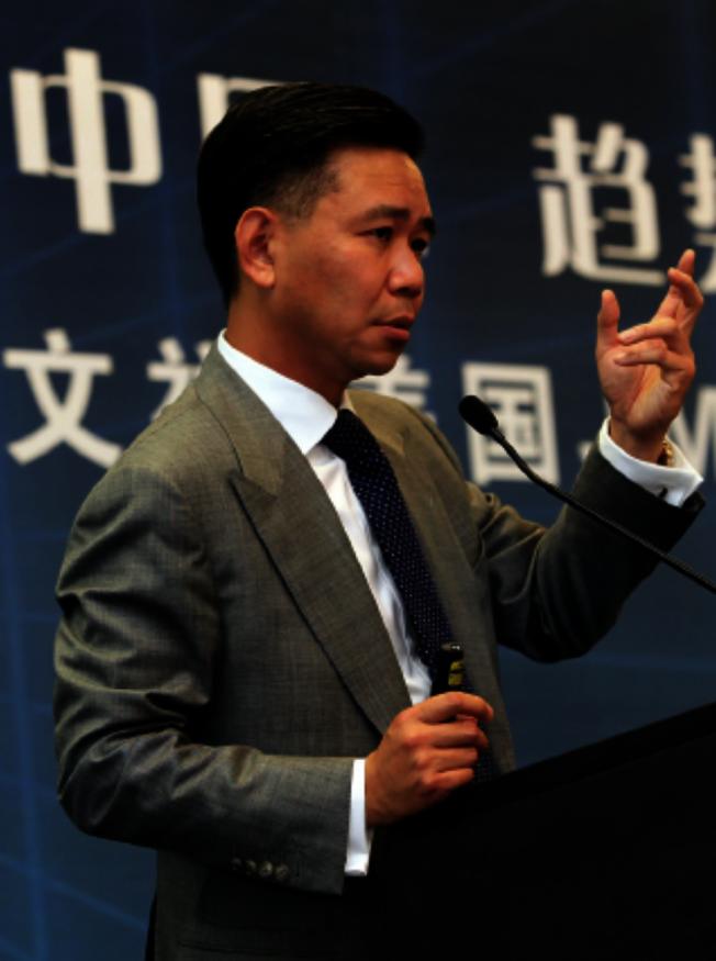 王文祥( CEO of  JM Eagle)見證分享會。