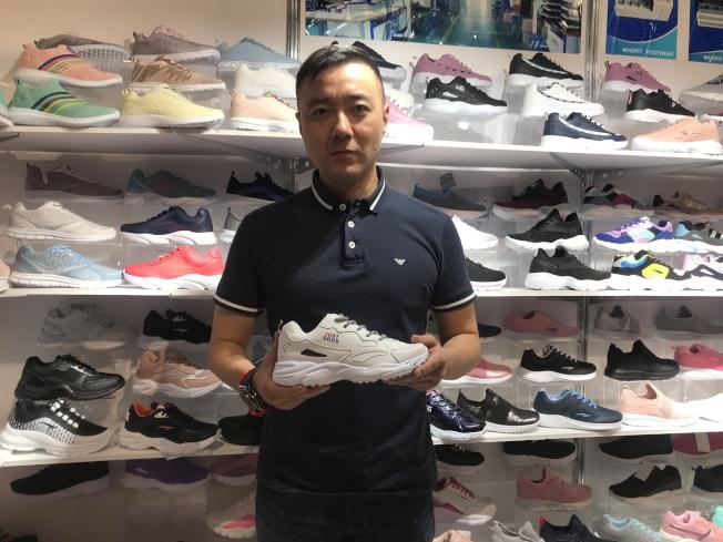 正谷鞋業總經理霍曉剛認為中國優勢還有一、二十年,關鍵是如何下功夫。(圖:商會提供)