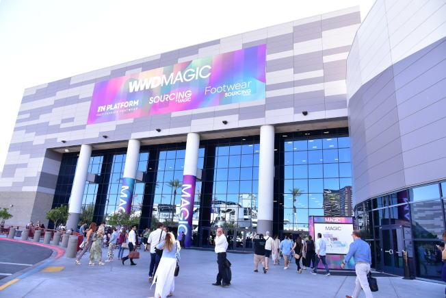 美國最大的鞋類會展之一的WWD Magic,今年8月依舊於拉斯維加斯吸引全球廠商目光。(高傑文/攝影)