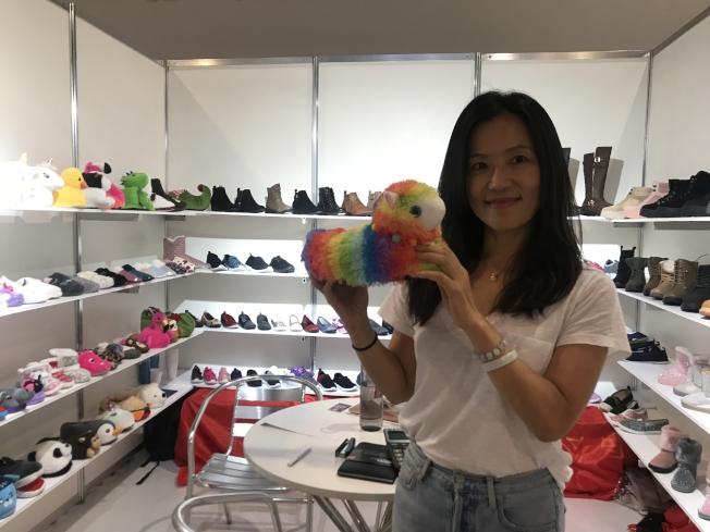 安徽金君進出口貿易公司經理Rachel Meng說,美國市場需要中國小工廠。(圖:商會提供)