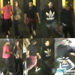 四男一女華埠地鐵搶劫行兇 刀捅受害者