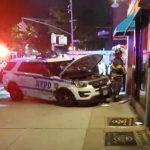 布碌崙警車失控撞商鋪、行人 5人送醫
