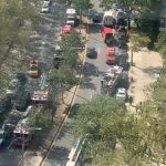 布碌崙地鐵突冒濃煙 逾600乘客緊急疏散