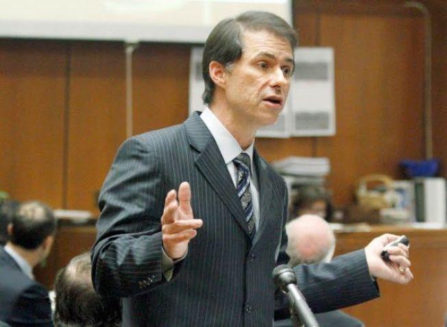 米勒2013年在貝爾市政府貪污案出庭。(美聯社)