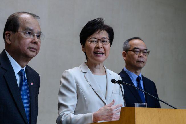 德国学者分析,港府撤回逃犯条例修订并非对示威者让步,而是为了10月1日中国国庆日前让香港局势恢复平静。 图╱GettyImages