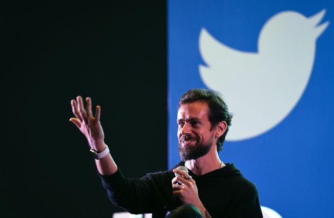 推特CEO多爾西(Jack Dorsey)的推特帳戶被駭。(Getty Images)