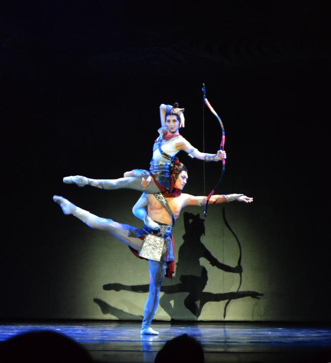由中國遼寧芭蕾舞團耗時三年打造的芭蕾舞劇「花木蘭」,7日來到美東巡演的最後一站大華府。(記者羅曉媛/攝影)