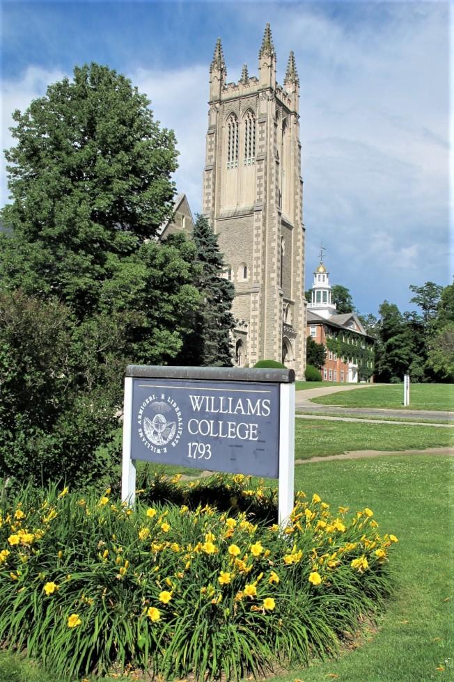 麻州西部的威廉斯學院名列「美國新聞與世界報導」全美高校年度排行文理學院(Liberal Arts)類別第一名。(記者唐嘉麗/攝影)