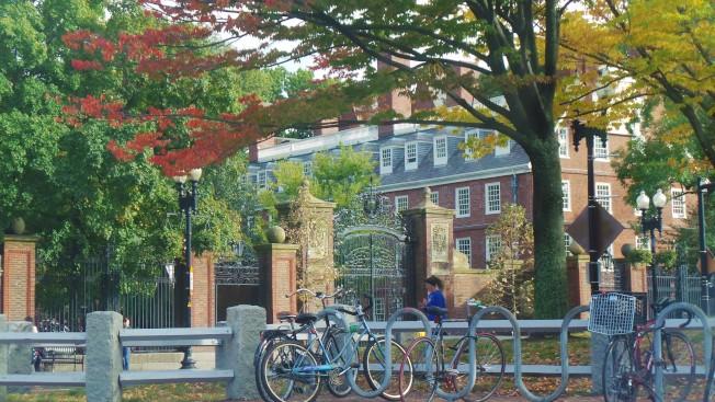 哈佛大學在美國新聞與世界報導(US News and World Report)全美大學2020年度排名中次於普林斯頓大學名列第二。(記者唐嘉麗/攝影))