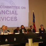 國會議員訪休城 舉行金融聽證會