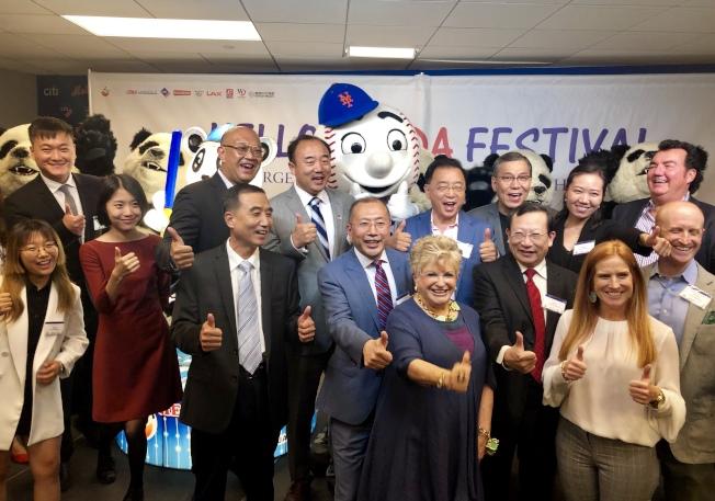 「Hello Panda Festival」活動主、協辦方代表歡迎民眾屆時共襄盛舉。(記者朱蕾/攝影)