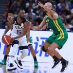 世界杯男籃╱下半場甩開巴西糾纏 美國5戰全勝晉8強