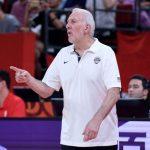 世界杯男籃╱美國防守優異 波波維奇打趣:拿合約威脅