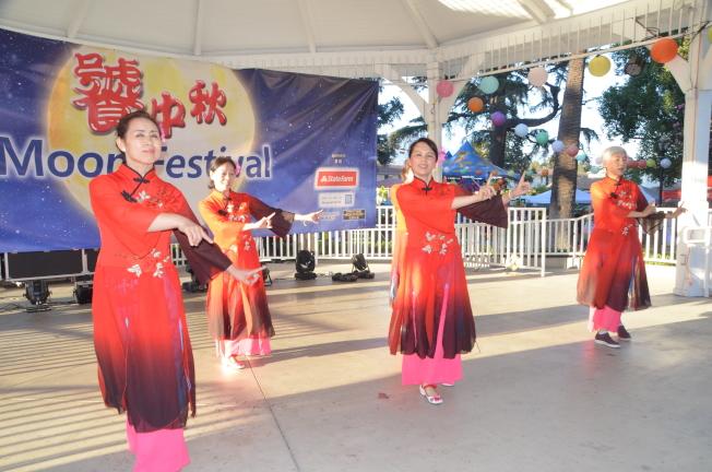 珠珠舞蹈。(記者王全秀子/攝影)