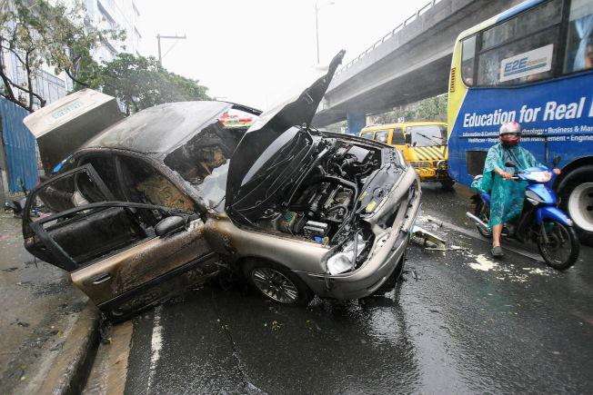 車速過快是車禍常見的原因。新華社資料照片