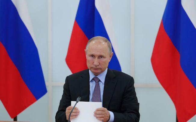 俄國總統普亭。Getty Images
