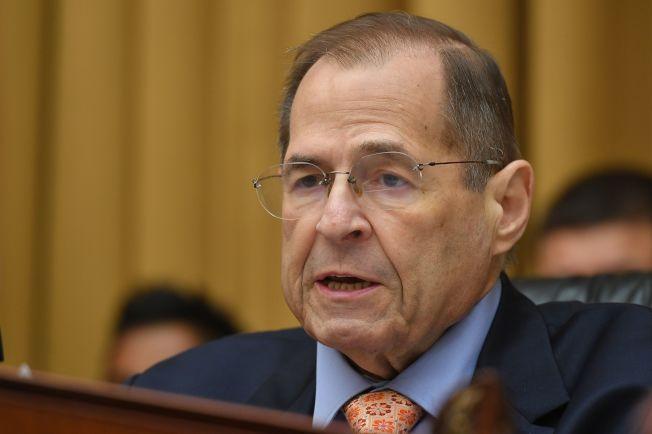 眾議院司法委員會主席納德勒(Jerry Nadler,圖)決定要讓彈劾總統川普調查正式化。Getty Images