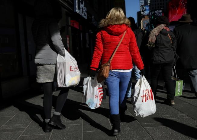 調查顯示,美國民眾的通膨預期滑落至多年低點。路透