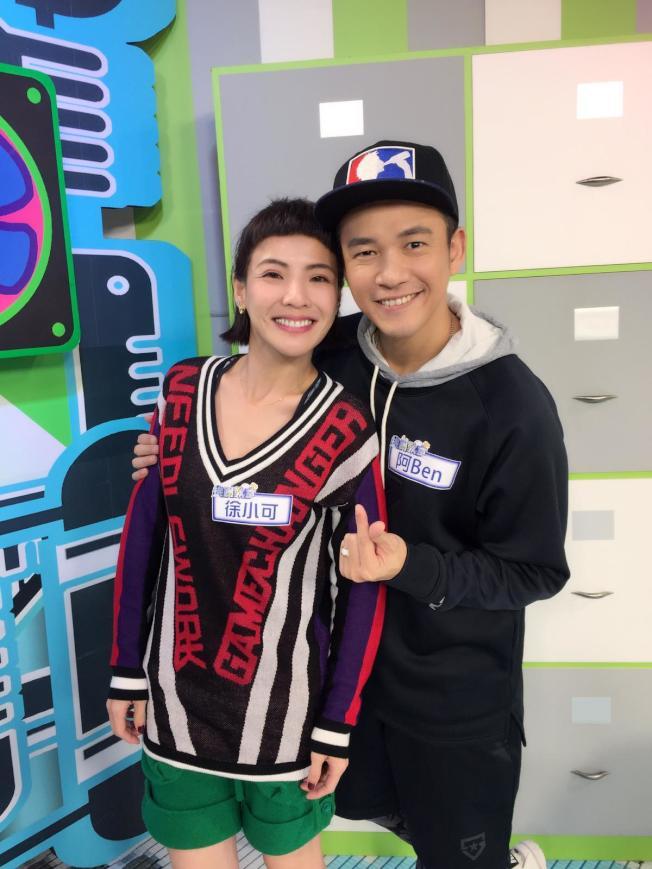 銀色全能夫妻—阿Ben及徐小可也前來助緣演唱。