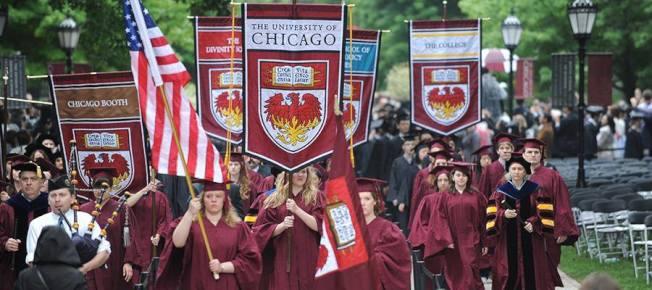 芝加哥大學在新出爐的大學排行榜上排名第六。(芝大臉書)