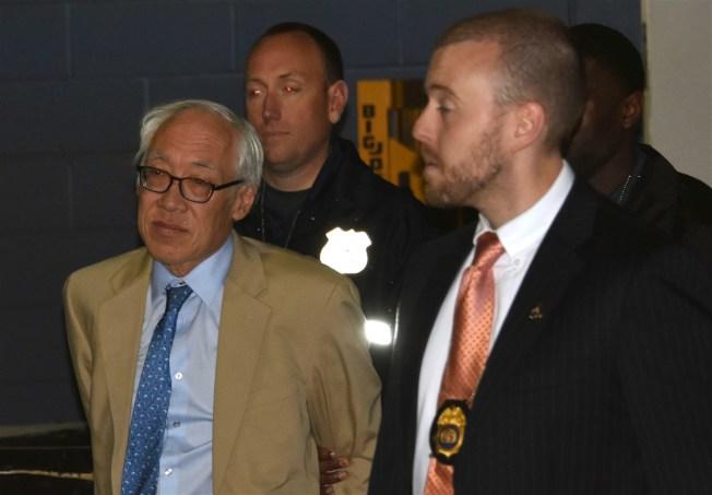 華裔醫生蔡德彰去年3月被捕。(毒品管制署提供)