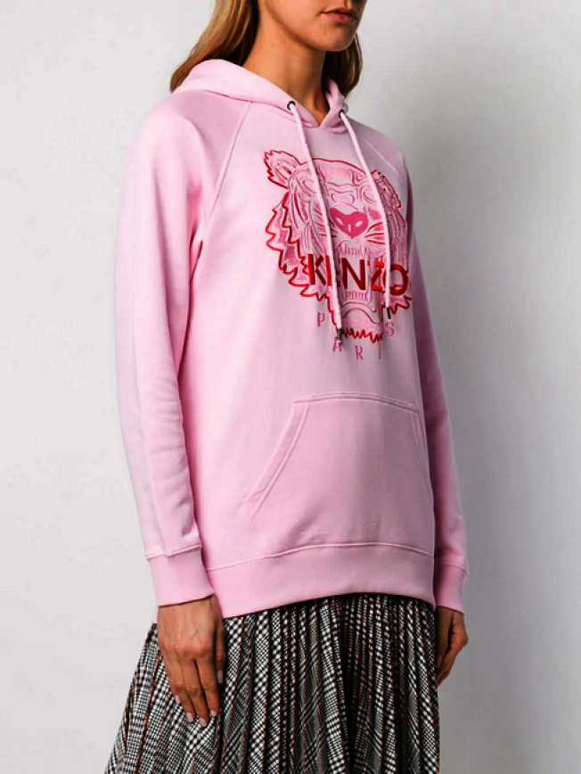 Kenzo粉色帽衫。(Kenzo)