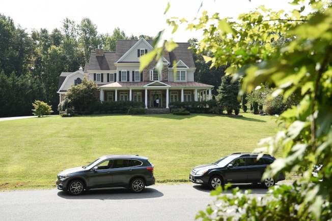 據說這是美國間諜斯莫連科夫在維吉尼亞州的住宅。(Getty Images)
